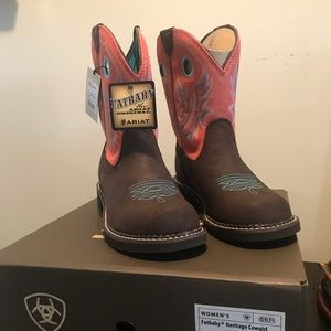 Ariat Fatbaby Heritage Cowgirl Boots NWT